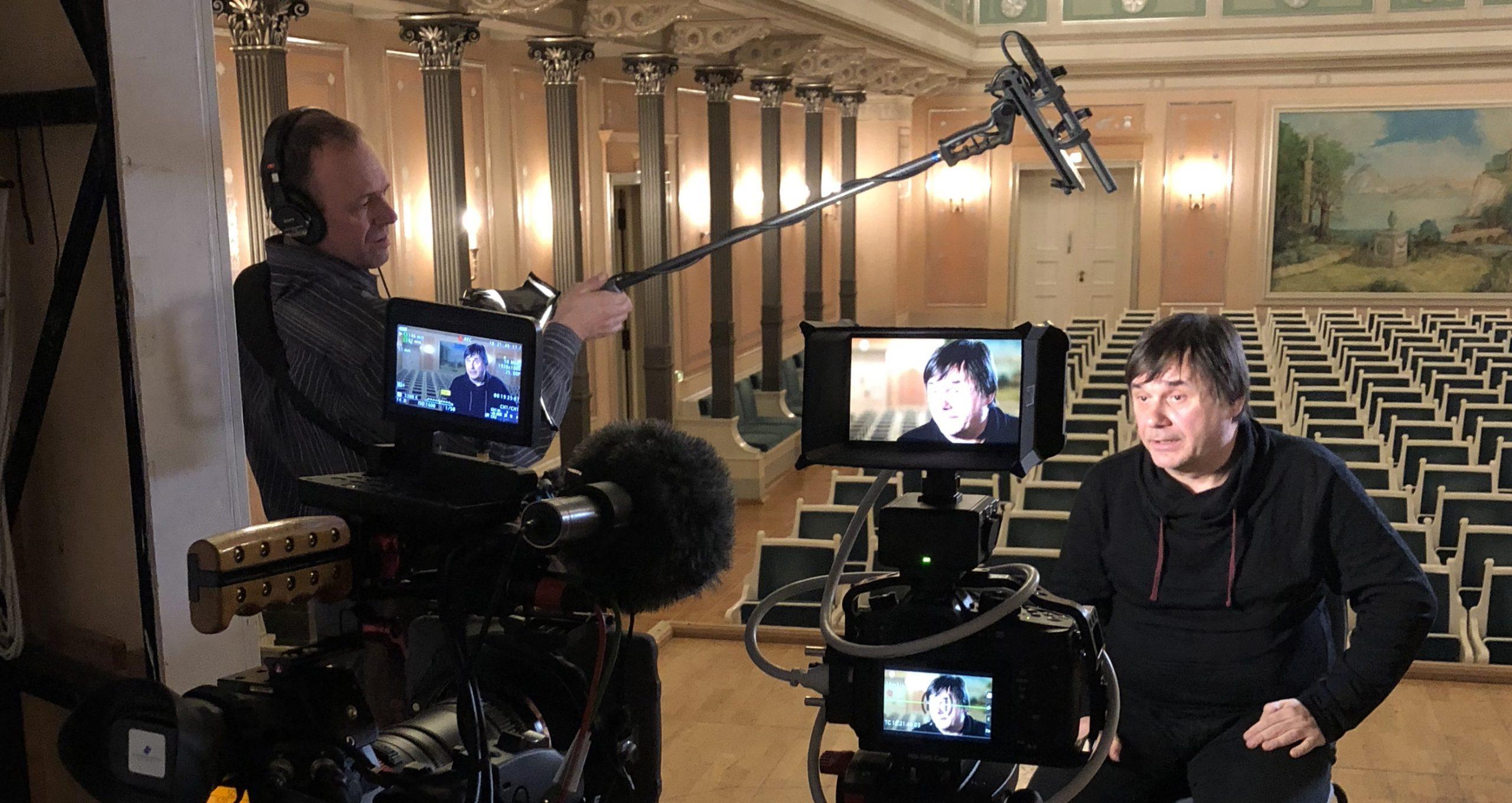 Dreharbeiten im Konzerthaus Berlin/Altenburger Film